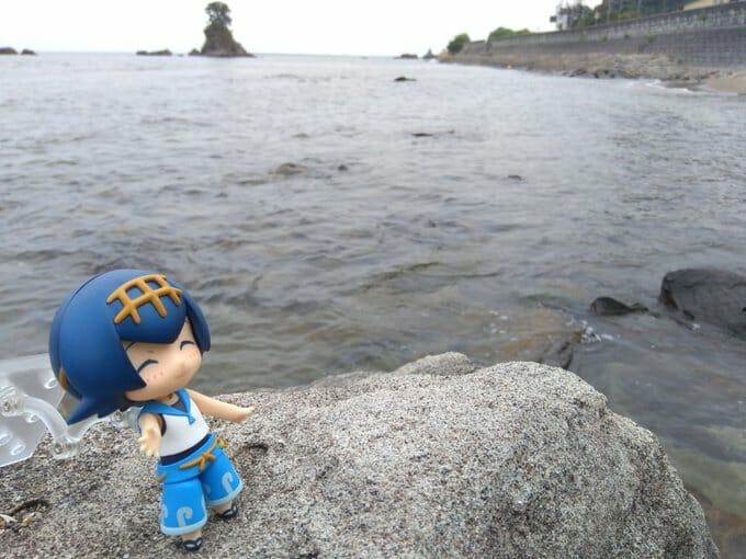 富山湾の景色