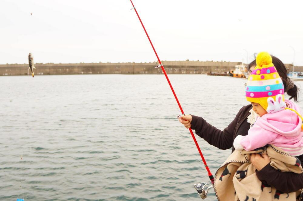 生まれてはじめての魚釣り